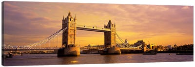 Tower Bridge London England Canvas Print #PIM2777