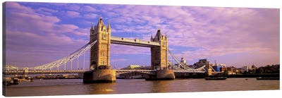 Tower Bridge London England Canvas Print #PIM2778