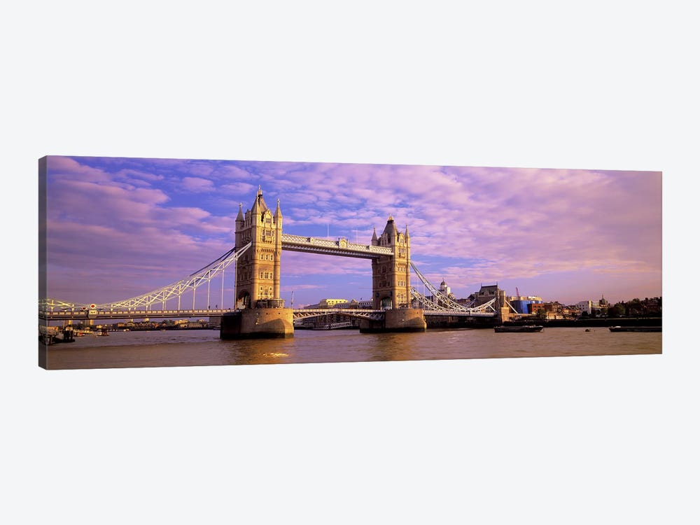 Tower Bridge London England by Panoramic Images 1-piece Canvas Wall Art