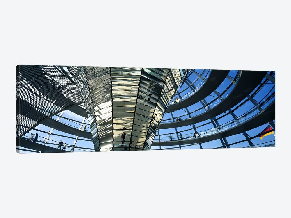 Glass Dome Reichstag Berlin Germany by Panoramic Images 1-piece Canvas Print