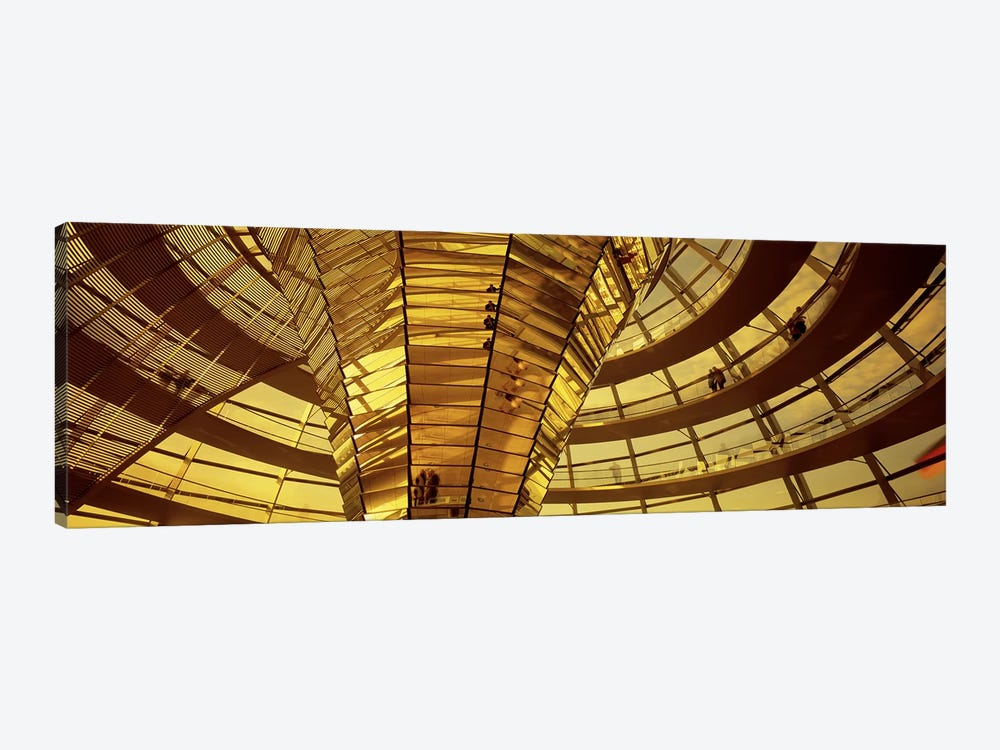 Glass Dome Reichstag Berlin Germany by Panoramic Images 1-piece Canvas Artwork