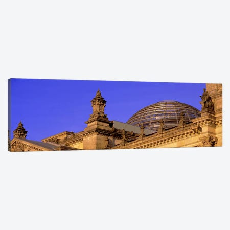 Glass Dome Reichstag Berlin Germany #2 Canvas Print #PIM2784} by Panoramic Images Canvas Print