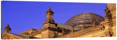 Glass Dome Reichstag Berlin Germany #2 Canvas Art Print