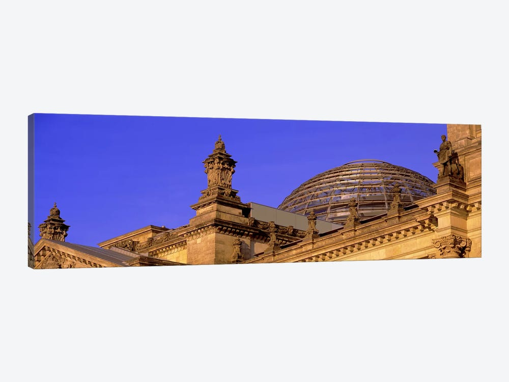 Glass Dome Reichstag Berlin Germany #2 by Panoramic Images 1-piece Art Print