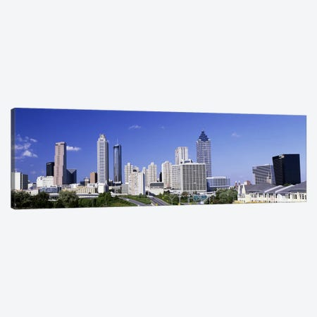Skyscrapers in a city, Atlanta, Georgia, USA #4 Canvas Print #PIM2789} by Panoramic Images Canvas Wall Art
