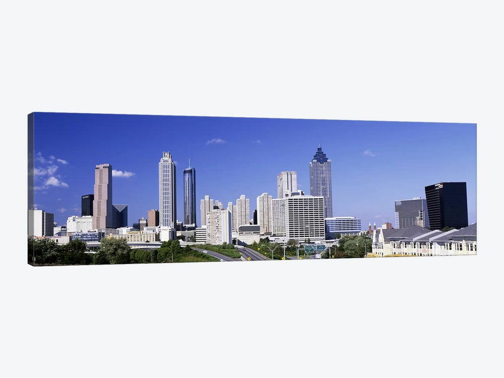 Skyscrapers in a city, Atlanta, Georgia, USA #4 by Panoramic Images 1-piece Canvas Art