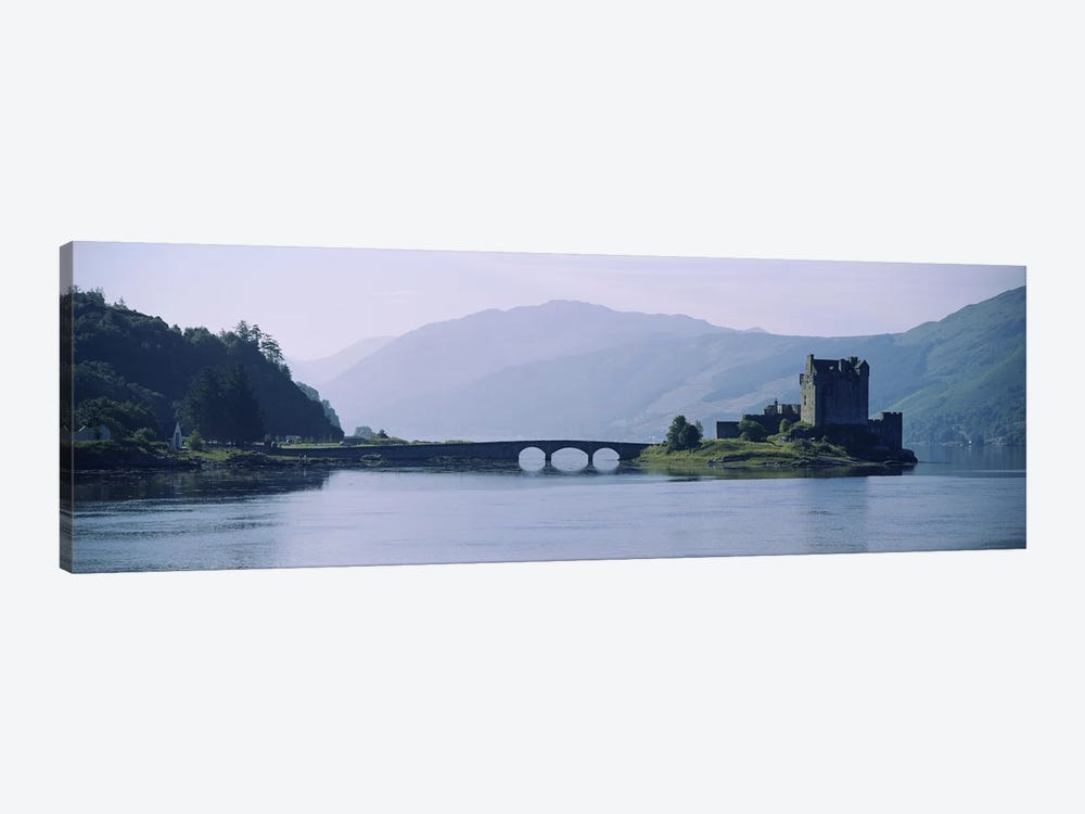Castle at the lakesideEilean Donan Castle, Loch Duich, Highlands Region, Scotland by Panoramic Images 1-piece Canvas Art Print