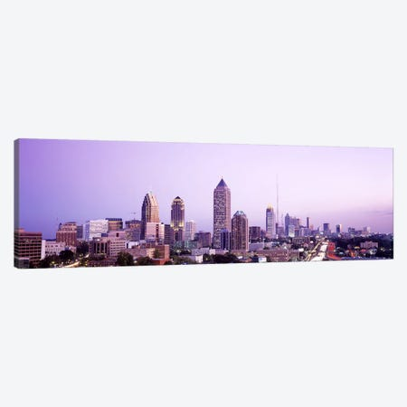 Twilight, Atlanta, Georgia, USA Canvas Print #PIM2792} by Panoramic Images Canvas Art Print
