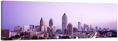 Twilight, Atlanta, Georgia, USA Canvas Art Print