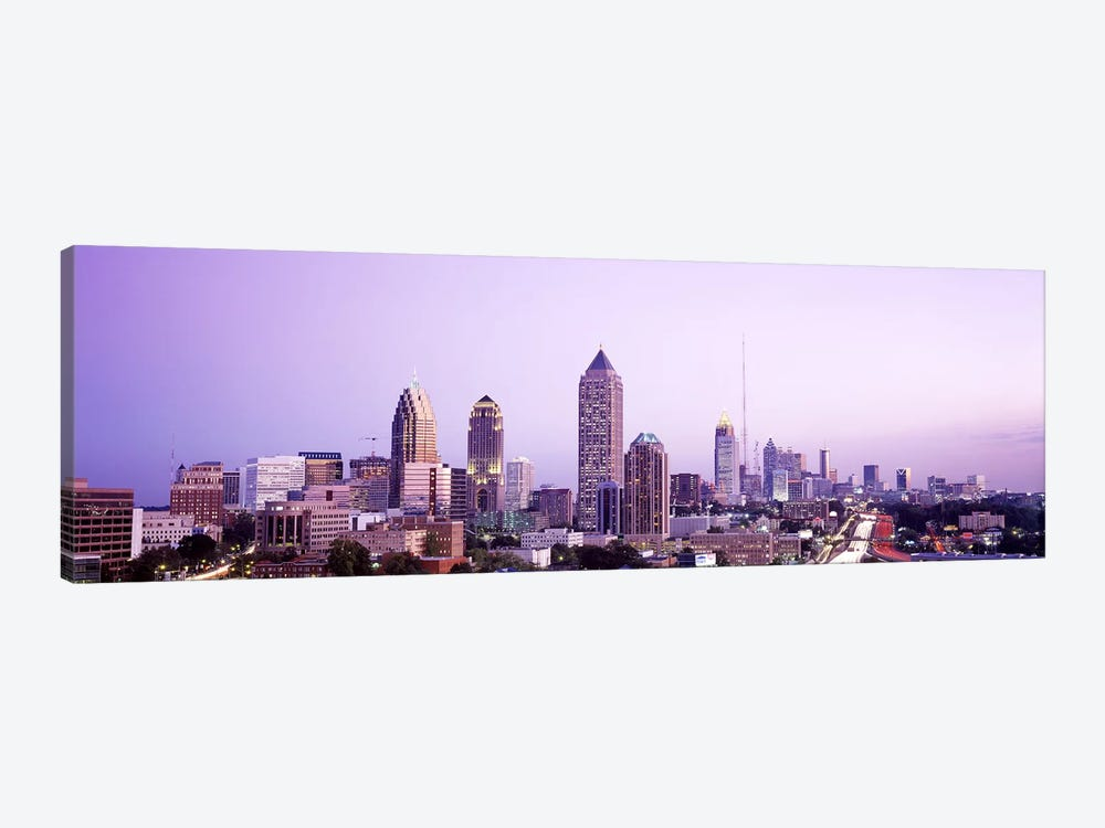 Twilight, Atlanta, Georgia, USA by Panoramic Images 1-piece Canvas Wall Art