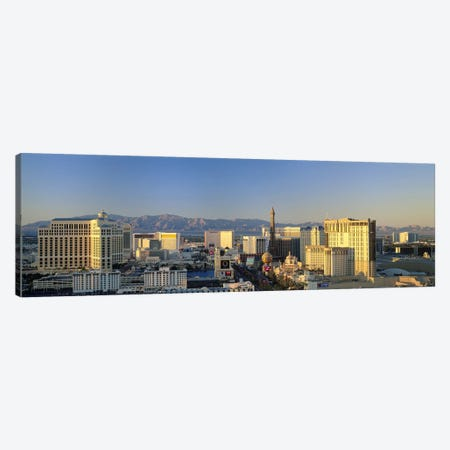 High Angle View Of Buildings In A City, Las Vegas, Nevada, USA #2 Canvas Print #PIM2793} by Panoramic Images Art Print
