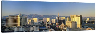 High Angle View Of Buildings In A City, Las Vegas, Nevada, USA #2 Canvas Art Print