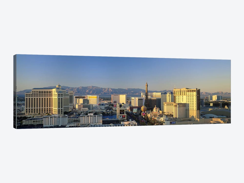 High Angle View Of Buildings In A City, Las Vegas, Nevada, USA #2 by Panoramic Images 1-piece Canvas Print