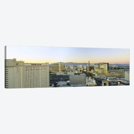 The Strip, Las Vegas, Nevada, USA #2 Canvas Print #PIM2794} by Panoramic Images Canvas Wall Art