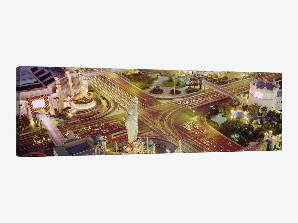 The Strip, Las Vegas, Nevada, USA #3 by Panoramic Images 1-piece Canvas Art Print