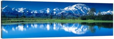 Mt McKinley and Wonder Lake Denali National Park AK Canvas Art Print