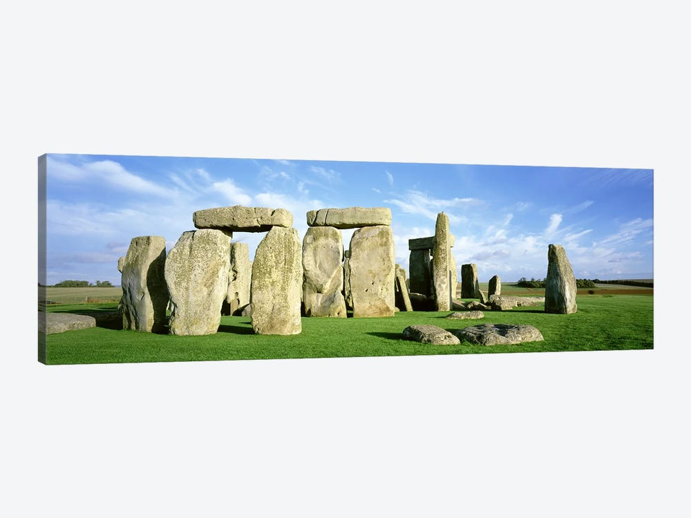 Stonehenge, Wiltshire, England, United Kingdom by Panoramic Images 1-piece Canvas Wall Art