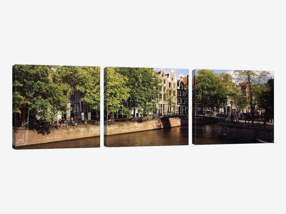 Amsterdam Netherlands by Panoramic Images 3-piece Art Print