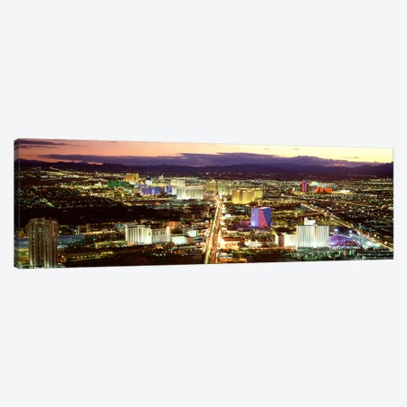 The StripLas Vegas Nevada, USA Canvas Print #PIM2812} by Panoramic Images Canvas Art