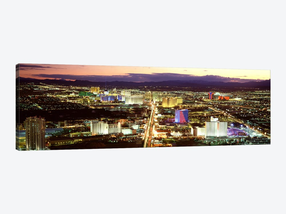 The StripLas Vegas Nevada, USA 1-piece Canvas Wall Art