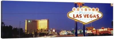 Las Vegas Sign, Las Vegas Nevada, USA Canvas Print #PIM2815