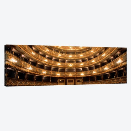 Interior View, Estates Theatre (Stavovske Divadlo), Prague, Czech Republic Canvas Print #PIM2817} by Panoramic Images Canvas Art Print