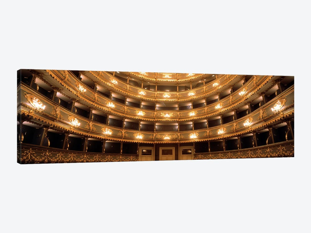 Interior View, Estates Theatre (Stavovske Divadlo), Prague, Czech Republic by Panoramic Images 1-piece Art Print