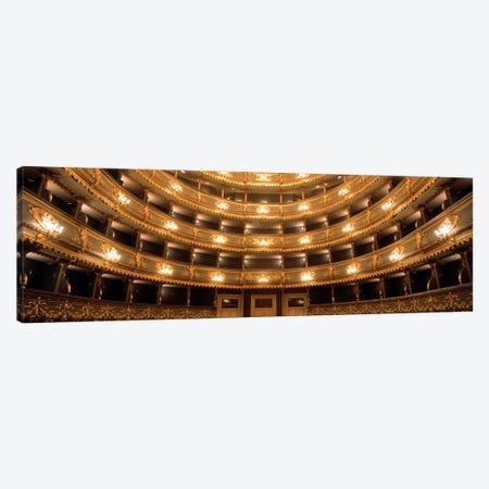 Interior View, Estates Theatre (Stavovske Divadlo), Prague, Czech Republic Canvas Print #PIM2817} by Panoramic Images Canvas Art Print