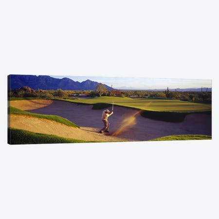 Golf Course Tucson AZ USA Canvas Print #PIM2823} by Panoramic Images Canvas Art Print
