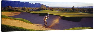 Golf Course Tucson AZ USA Canvas Art Print
