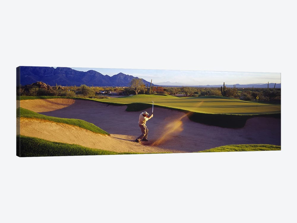 Golf Course Tucson AZ USA 1-piece Canvas Artwork
