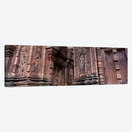 Bantreay Srei nr Siem Reap Cambodia Canvas Print #PIM2826} by Panoramic Images Canvas Artwork