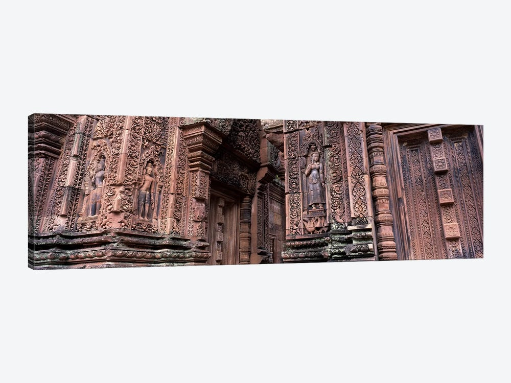 Bantreay Srei nr Siem Reap Cambodia by Panoramic Images 1-piece Canvas Art Print