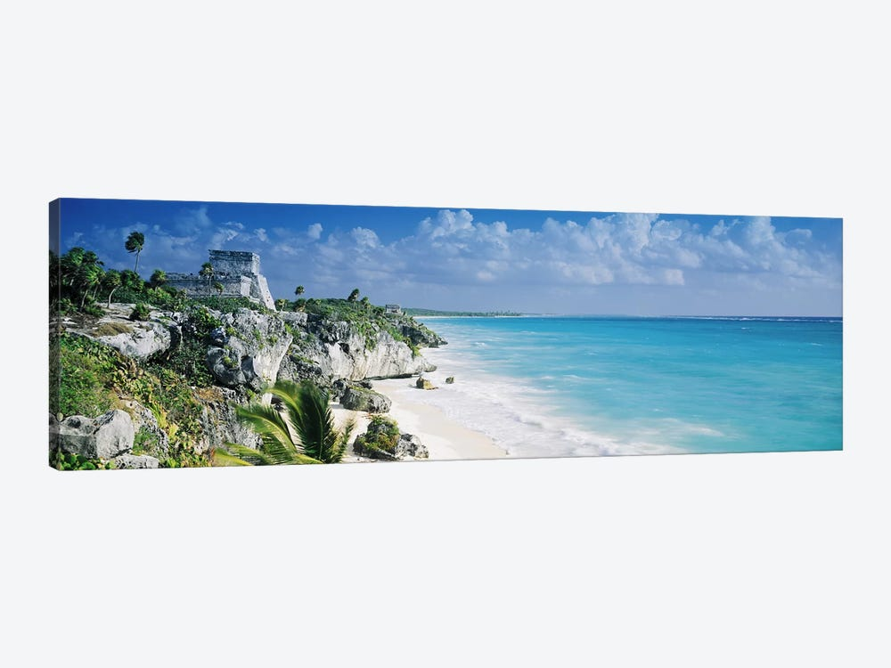 El Castillo, Tulum, Quintana Roo, Mexico by Panoramic Images 1-piece Canvas Print