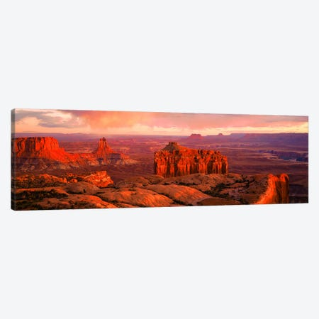 Canyonlands National Park UT USA Canvas Print #PIM2830} by Panoramic Images Canvas Artwork