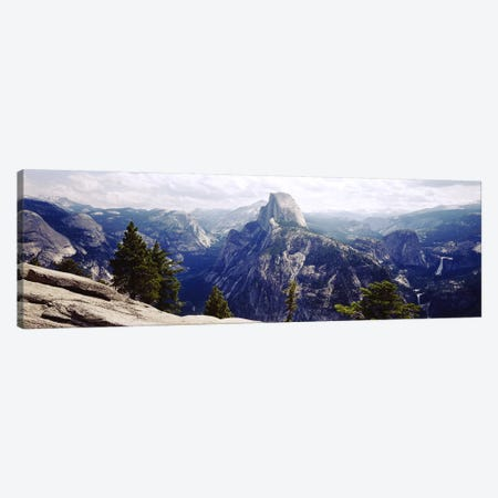 Half Dome High Sierras Yosemite National Park CA Canvas Print #PIM2832} by Panoramic Images Canvas Wall Art