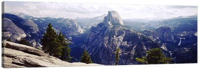Half Dome High Sierras Yosemite National Park CA Canvas Print #PIM2832
