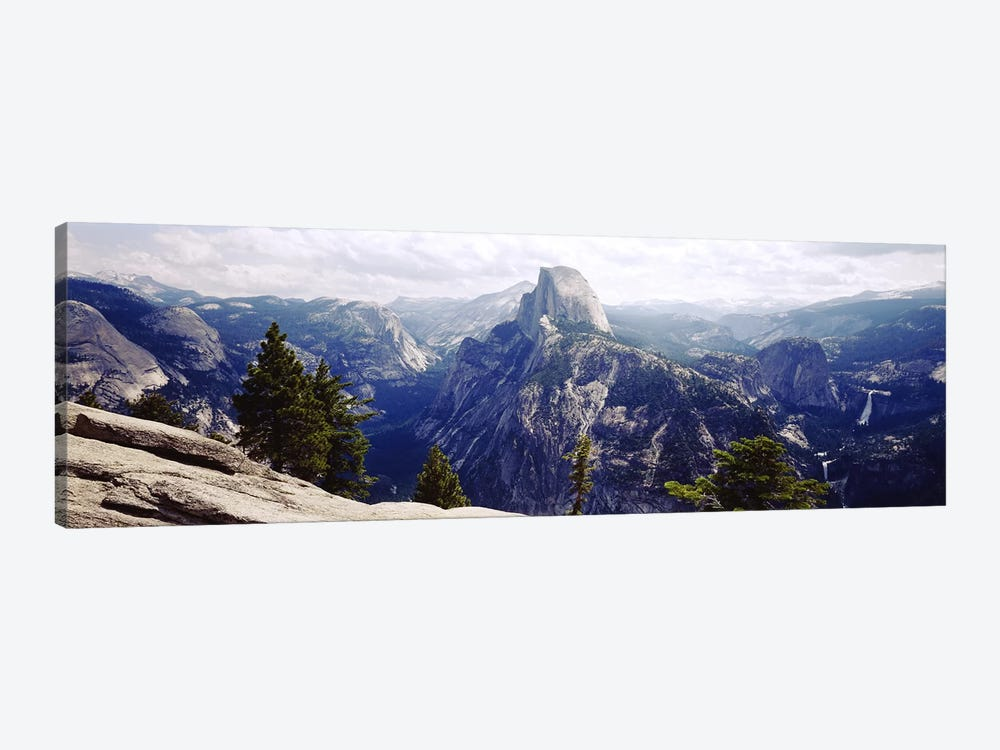 Half Dome High Sierras Yosemite National Park CA by Panoramic Images 1-piece Canvas Art