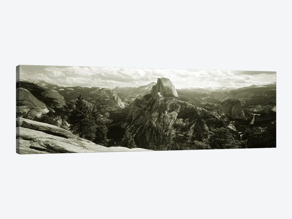 Half Dome In B&W, Yosemite National Park, California, USA by Panoramic Images 1-piece Art Print