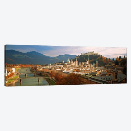 Cityscape Salzburg Austria Canvas Print #PIM2834} by Panoramic Images Canvas Art Print