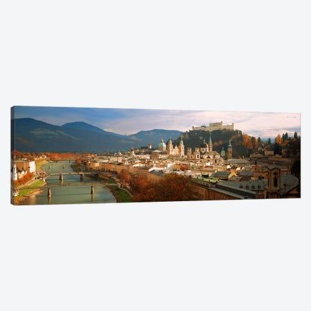 Cityscape Salzburg Austria Canvas Print #PIM2834} by Panoramic Images Canvas Art Print