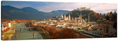 Cityscape Salzburg Austria Canvas Art Print