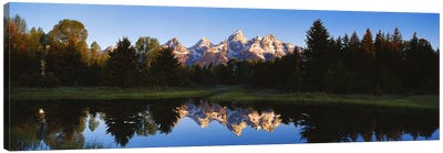 Beaver Pond Grand Teton National Park WY Canvas Print #PIM2835
