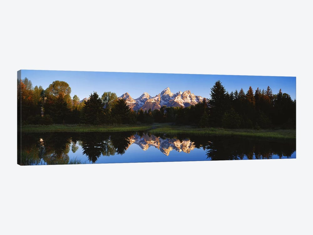 Beaver Pond Grand Teton National Park WY by Panoramic Images 1-piece Canvas Art Print