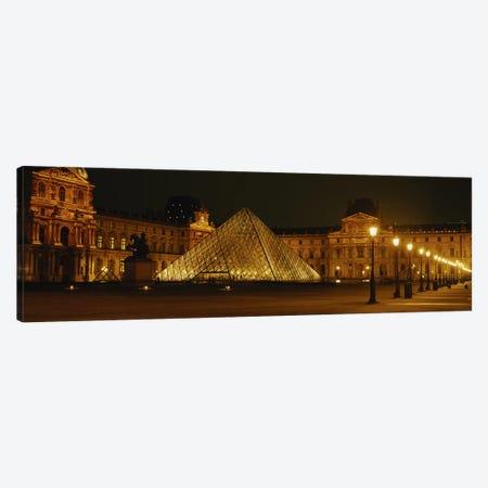 Louvre Paris France Canvas Print #PIM2838} by Panoramic Images Canvas Art