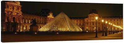 Louvre Paris France Canvas Art Print