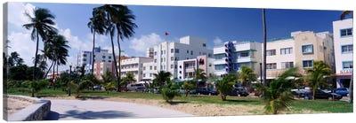 Ocean Drive, South Beach, Miami Beach, Florida, USA Canvas Print #PIM283