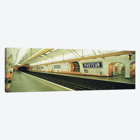 Metro Station, Paris, Ile-de-France, France Canvas Print #PIM2842} by Panoramic Images Canvas Print