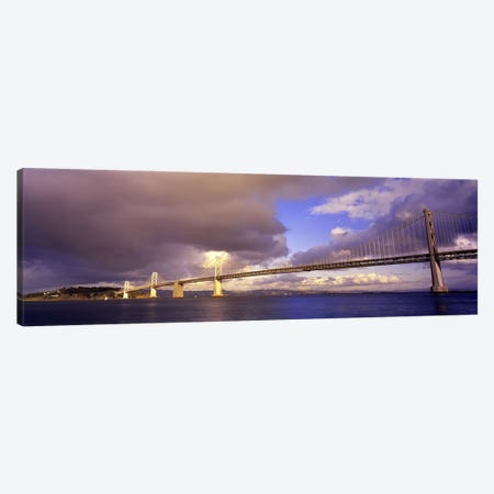 Oakland Bay Bridge San Francisco California USA Canvas Print #PIM2843} by Panoramic Images Art Print