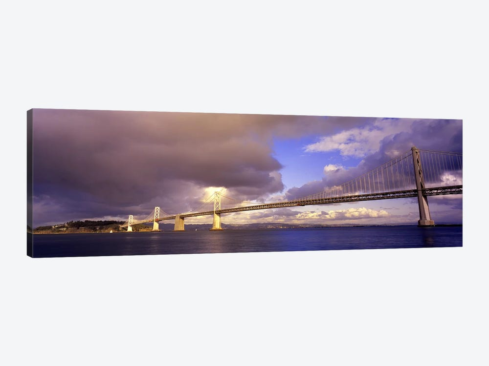 Oakland Bay Bridge San Francisco California USA by Panoramic Images 1-piece Canvas Wall Art